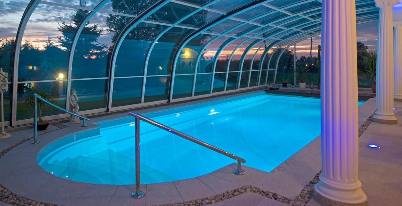 Poolbau Thüringen poolüberdachungen thüringen verlängern sie die badesaison